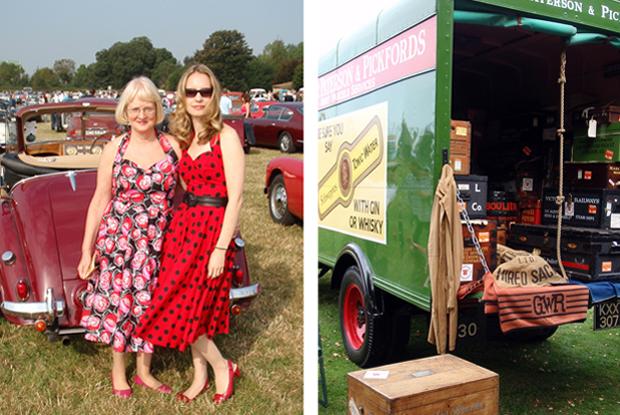 Goodwood Revival vintage event near Chichester UK