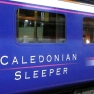 Caledonian Sleeper train from London to Scotland