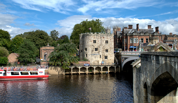 Lendal Bridge over the River Ouse in York