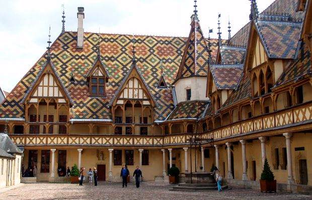 Hôtel Dieu des Hospices de Beaune in Burgundy