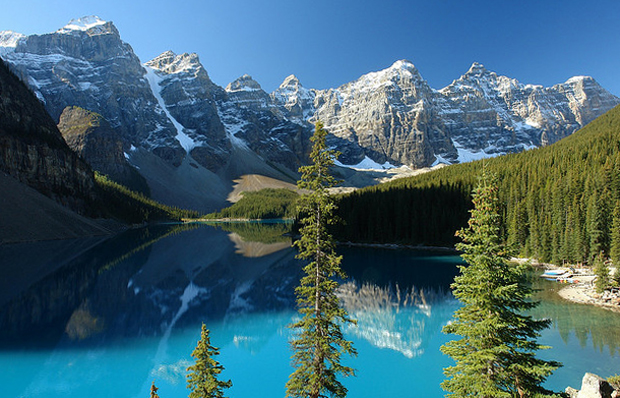 Canadian Rocky Mountains in Banff National Park