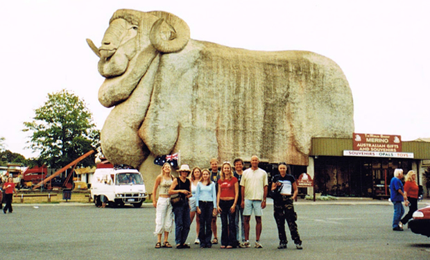 The Big Merino in Goulburn, Australia