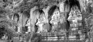 Gunung Kawi rock temples, Bali, Indonesia