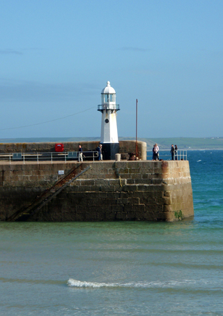Lighthouse in St Ives, Cornwall