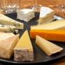 Cheese tasting at Neal's Yard Dairy, London