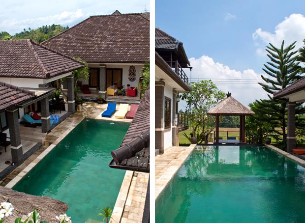 The pool at Balam Bali Villa, Ubud