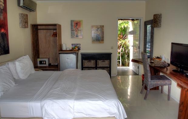 Room at Scallywags, Gili Trawangan, Indonesia