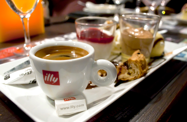 Cafe Gourmand in Reims Champagne region, France