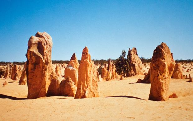 The Pinnacles in Nambung National Park