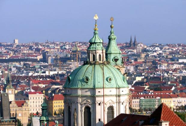The old city of Prague, Czech Republic