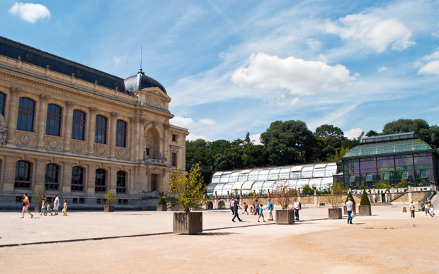 Natural History Museum in the Jardin des Plantes botanical garden, Paris
