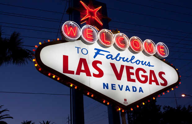 Las Vegas sign, USA
