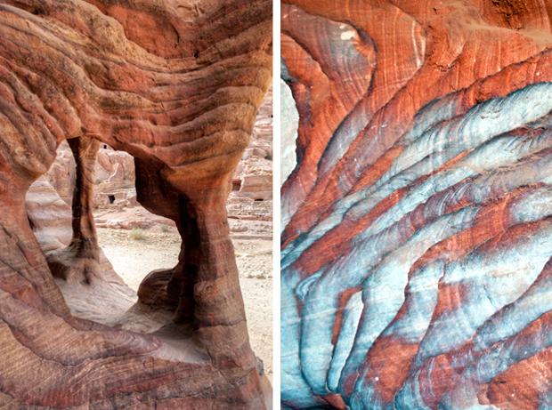 Rocks of Petra, Jordan