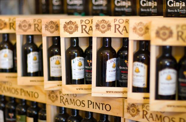 Bottles of Port in Portugal – photo credit Kim Davies