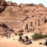 Amphitheatre in Petra, Jordan