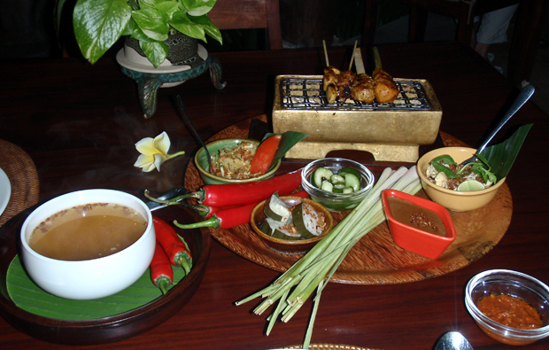 Balinese food, Indonesia