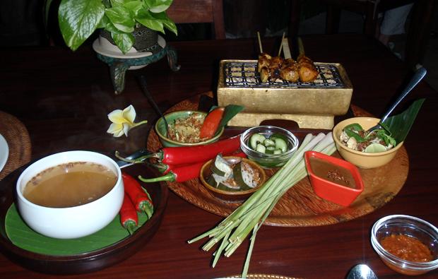 Balinese food, Indonesia