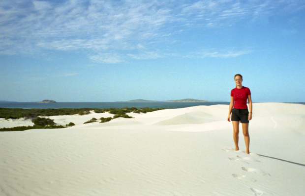 Sand dunes near Exmouth in Western Australia