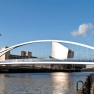 Bridge across Salford Quays in Manchester