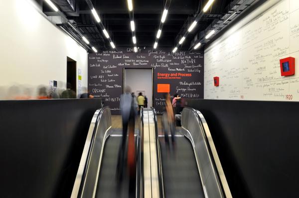 Inside the Tate Modern, London