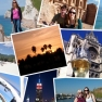 Collage of travel images from around the world