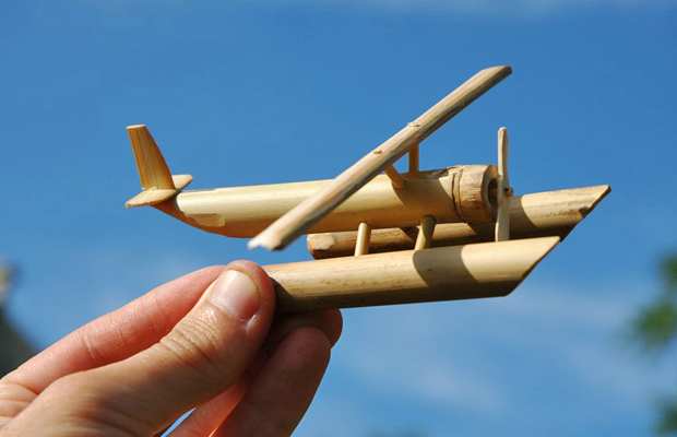 This seaplane would've floated a lot better – photo credit Lenny&Meriel on Flickr