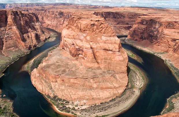Horseshoe Bend rock formation in Arizona, USA