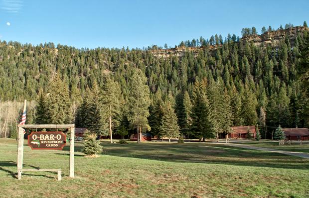 O Bar O Ba Cabins near Durango, Colorado