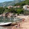 On the Adriatic coast in Montenegro