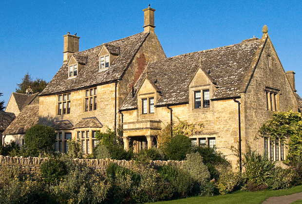 Cotswold stone houses
