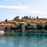 Island of Sveti Stefan on the Montenegro coast