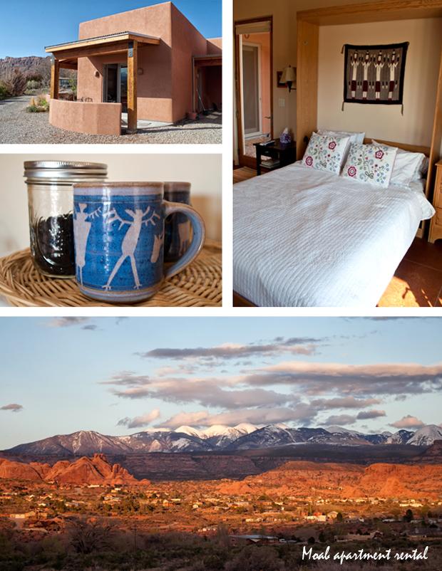 Apartment rental in Moab, Utah