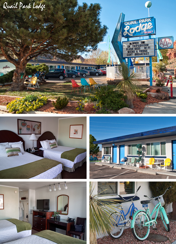 Quail Park Lodge accommodation in Kanab, Utah