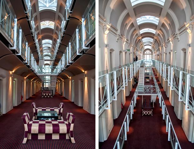 Former prison now the Oxford Malmaison hotel, UK
