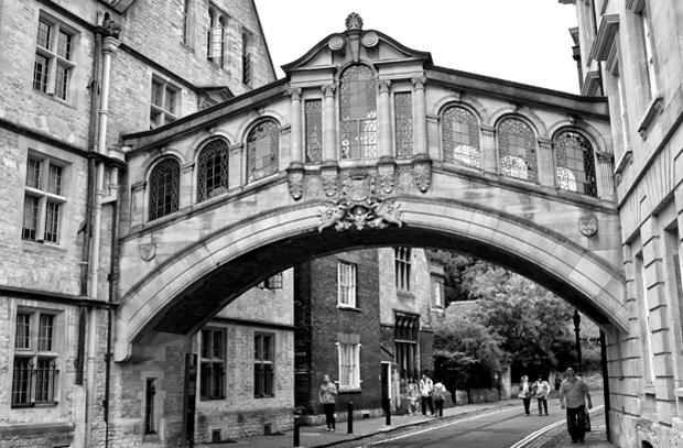 Bridge of Sighs, University of Oxford, England
