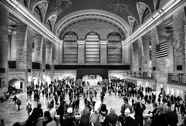 Grand Central Station in New York, USA