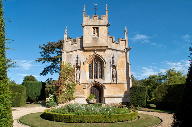 Castle chapel, Sudeley Castle in Gloucestershire