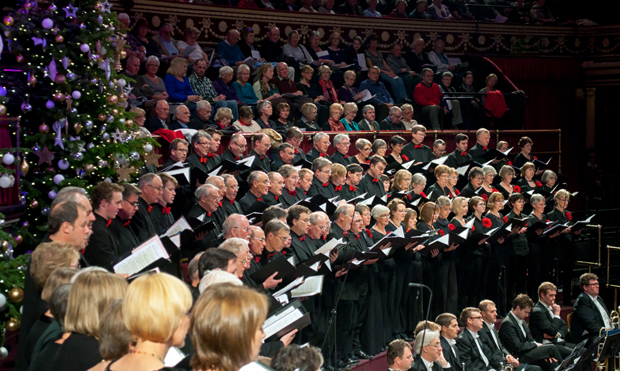 John Rutter Christmas carols, Royal Albert Hall, London