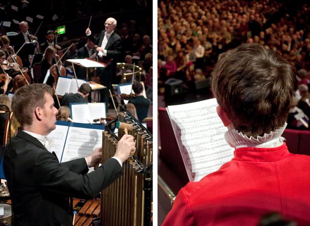 John Rutter Christmas carols, Royal Albert Hall, London