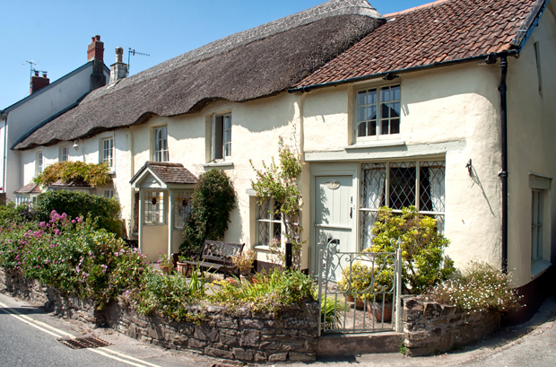 Countryside cottage in Croyde in Devon