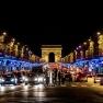 Champs Elysees Christmas lghts, Paris