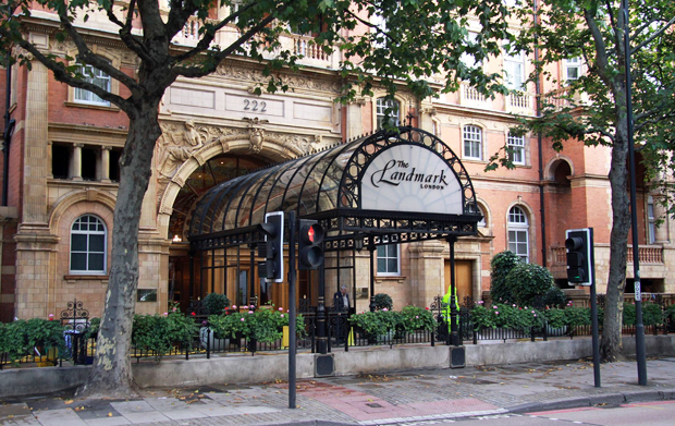 The Landmark Hotel in Marylebone, London