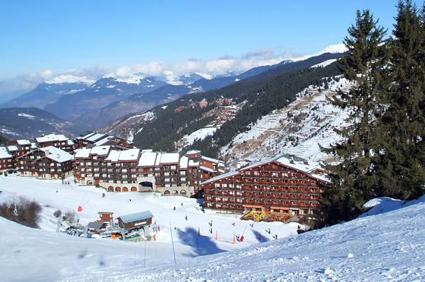 Meribel-Mottaret in the French Alps