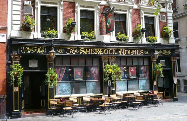 Sherlock Holmes pub, London
