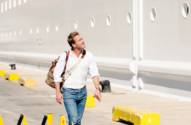 Adventurer and TV presenter Ben Fogle