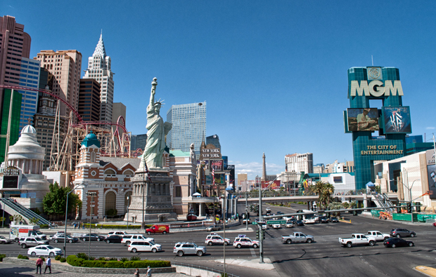 The Las Vegas Strip, Nevada USA