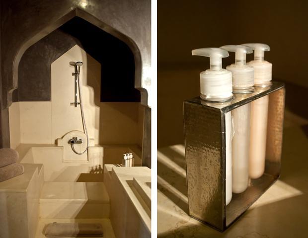 Bathroom at Riad Dar Maya, Essaouira, Morocco