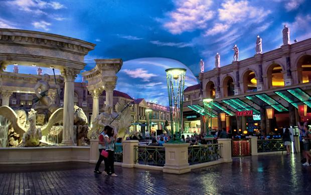 Caesars Palace casino, Las Vegas Nevada USA