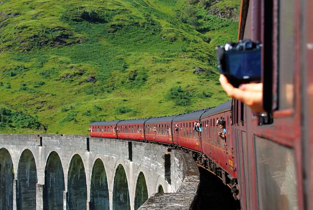 The West Highland Line, Scotland, UK