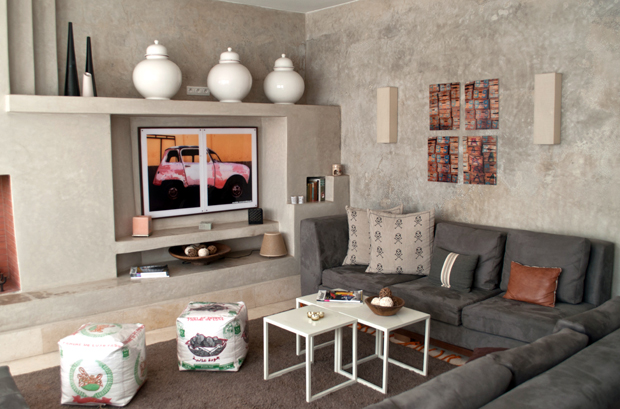 Lounge at Riad Dar Maya, Essaouira, Morocco